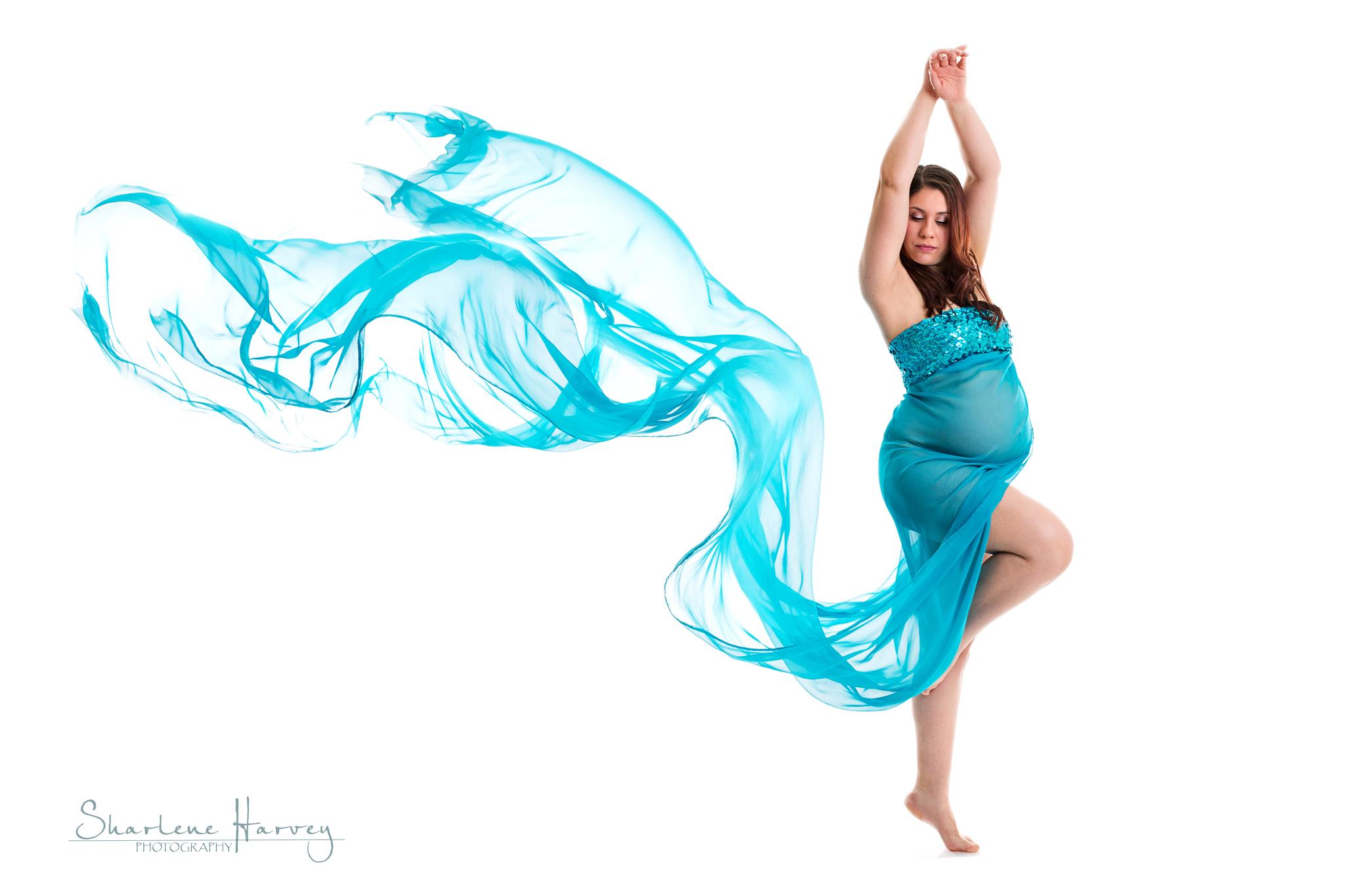 Artistic Fine Art Maternity Portrait | Mornington Peninsula Maternity Photographer