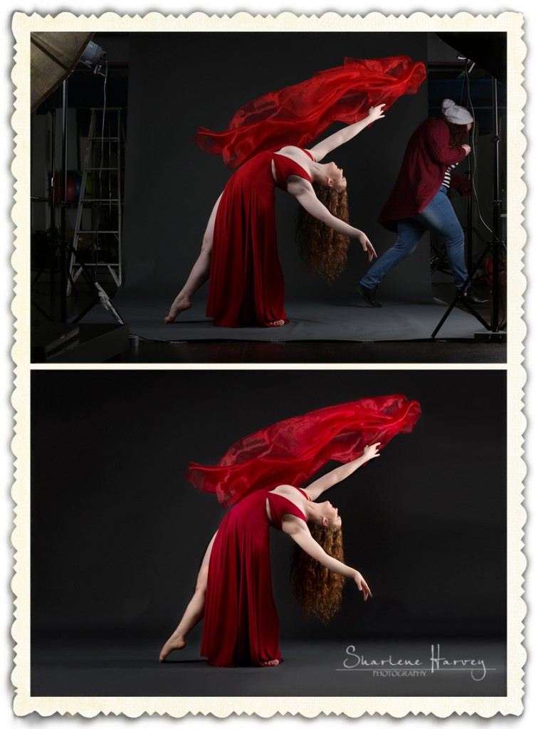 Behind the Scenes ballet photography