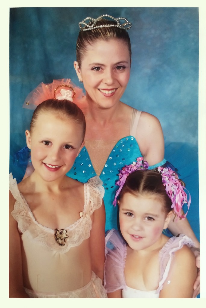 Ballet photo mother and daughters
